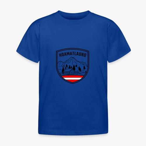 hoamatlaund österreich - Kinder T-Shirt