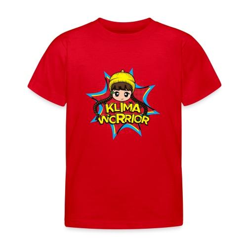 Klima, Climate, Worrior, Klimawandel - Kinder T-Shirt
