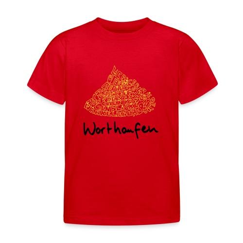Worthaufen - Kinder T-Shirt