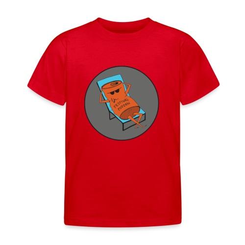Festivalpodden - Loggan - T-shirt barn