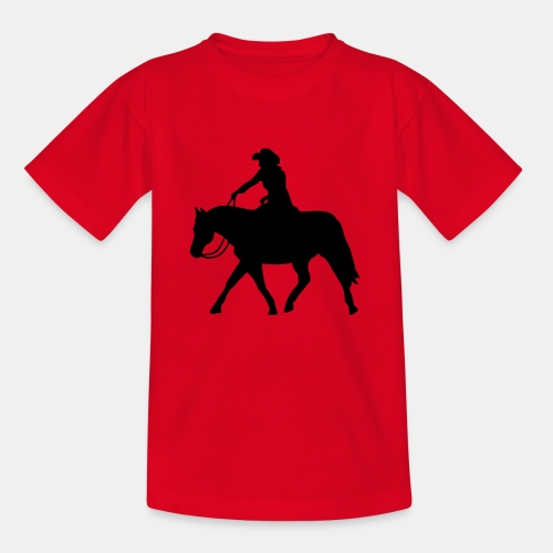 Ranch Riding extendet Trot - Kinder T-Shirt