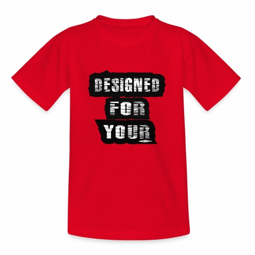 J&F Designed for your - Camiseta niño