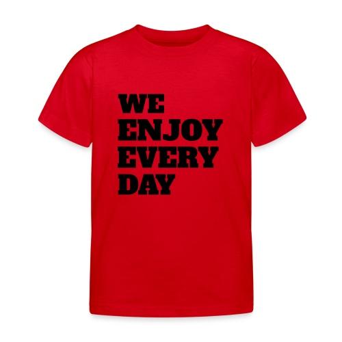 Enjoy - T-shirt Enfant