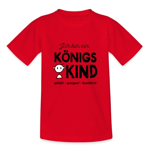Sany O. Ich bin ein Königs Kind - Kinder T-Shirt