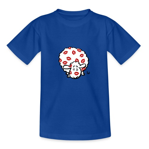 Kuss Mutterschaf - Kinder T-Shirt