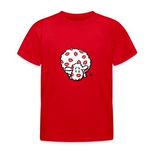 Beso oveja - Camiseta niño