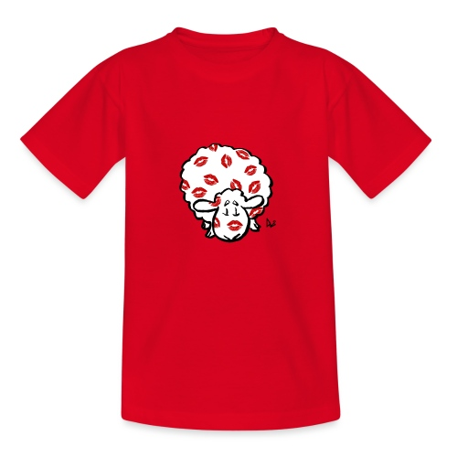 Kiss Ewe - Børne-T-shirt