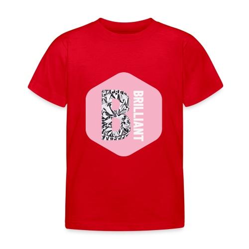B brilliant pink - Kinderen T-shirt