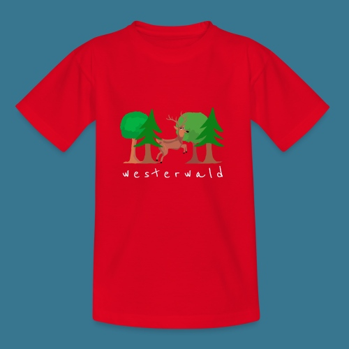 Westerwälder Wildlife - Kinder T-Shirt