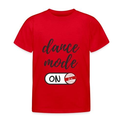 Shirt dance mode schw - Kinder T-Shirt