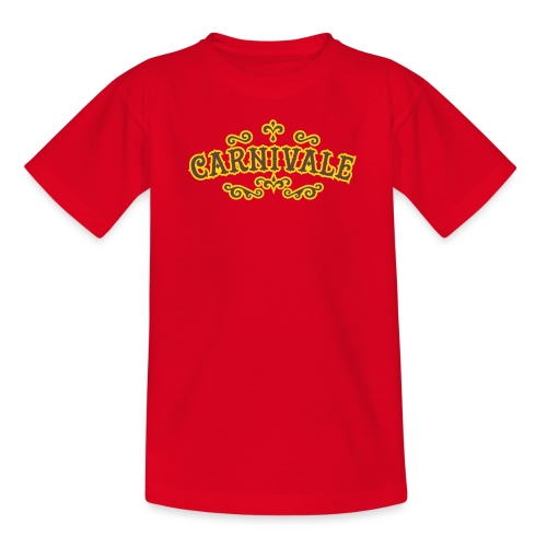 logo_carnivale_outline - Kinderen T-shirt