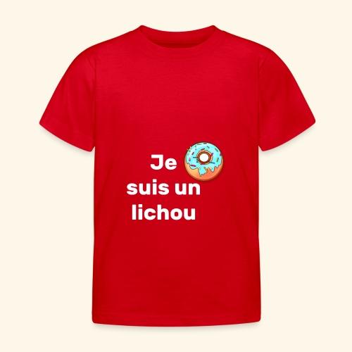 lichou - T-shirt Enfant