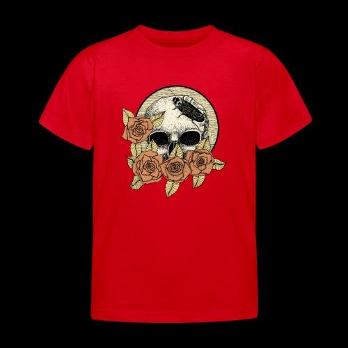 Rose et tête de mort - T-shirt Enfant