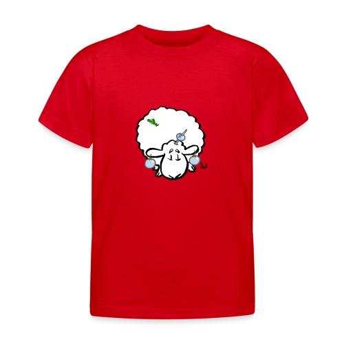 Weihnachtsbaumschaf - Kinder T-Shirt