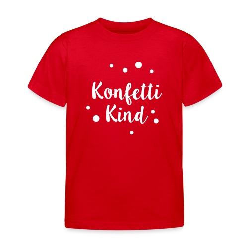 Konfettikind - Kinder T-Shirt