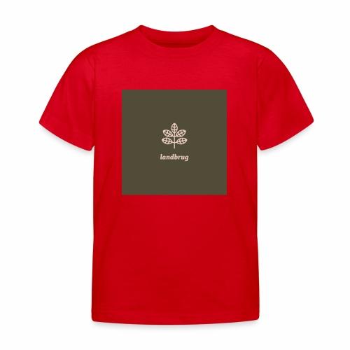 Landbrug - Børne-T-shirt