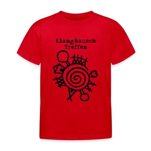 KlangRauschTreffen Logo mit Schrift - Kinder T-Shirt
