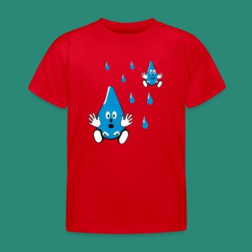 Tropfen - Kinder T-Shirt