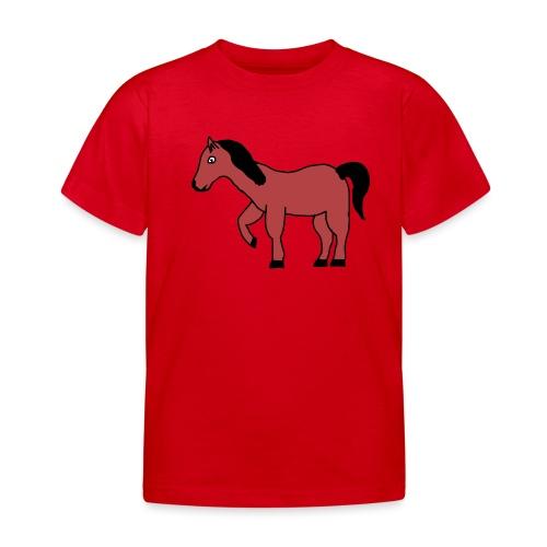 pferd Pony Reiten - Kinder T-Shirt