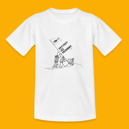 Dat Robot: Destroy War Light - Kinderen T-shirt