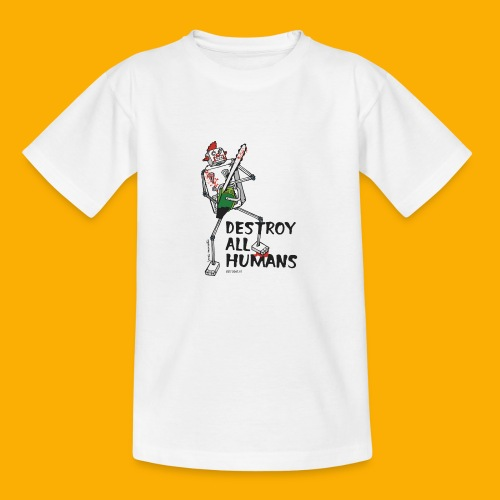 Dat Robot: Destroy Series Killer Clown Light - Kinderen T-shirt