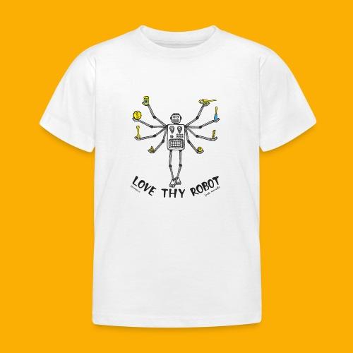 Dat Robot: Love Thy Robot shiva Light - Kinderen T-shirt