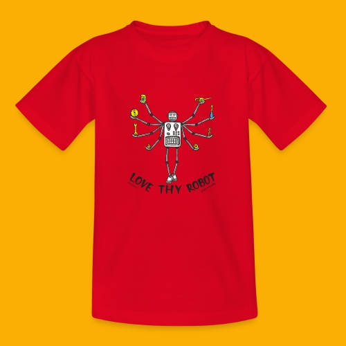 Dat Robot: Love Thy Robot shiva Light - Kinderen T-shirt