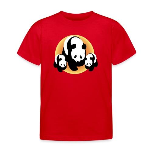 Chineese Panda's - Kinderen T-shirt