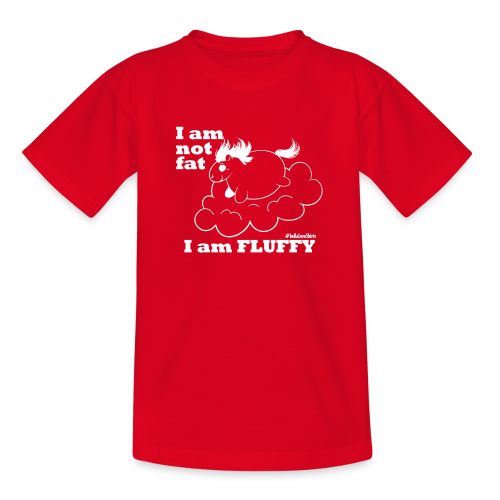 fluffy_baby - Kinder T-Shirt
