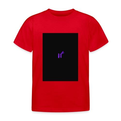 purple funky - T-skjorte for barn