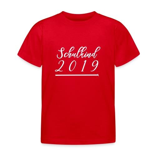 T-Shirt Schulbeginn - Kinder T-Shirt