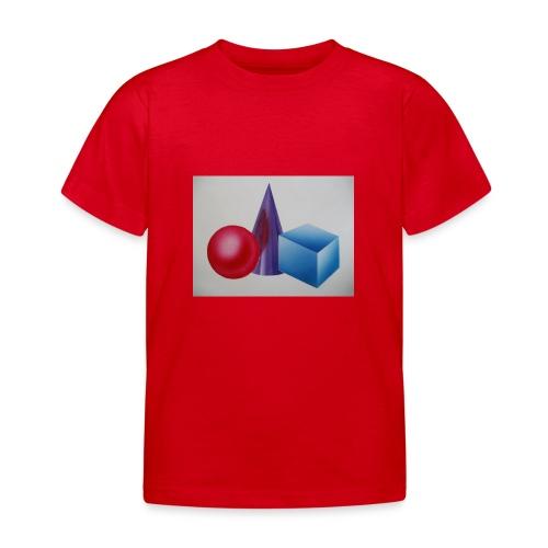 P1270003 Bausteine - Kinder T-Shirt