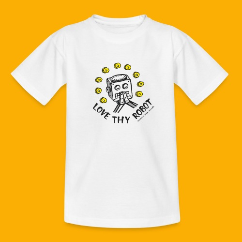 Dat Robot: Love Thy Robot Series Light - Kinderen T-shirt