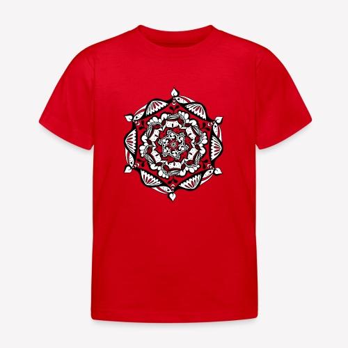 Mandala Flower - Kinder T-Shirt
