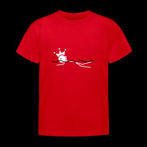 Zwemkoning - Kinderen T-shirt