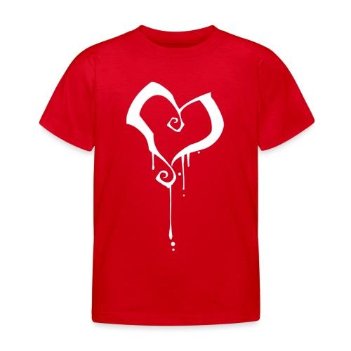 Coeur - T-shirt Enfant