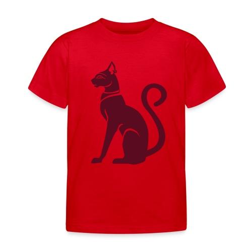 Bastet - Katzengöttin im alten Ägypten - Kinder T-Shirt