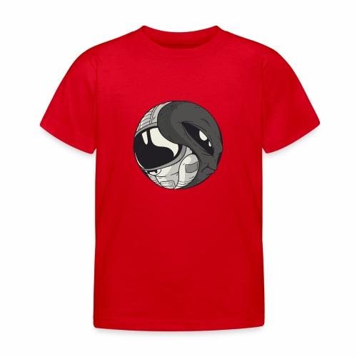 Yin Yang space Alien und Astronaut - Kinder T-Shirt