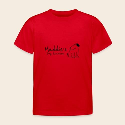 Académie des chiens de Maddie (noir) - T-shirt Enfant