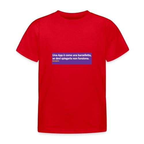 barzelletta - Maglietta per bambini