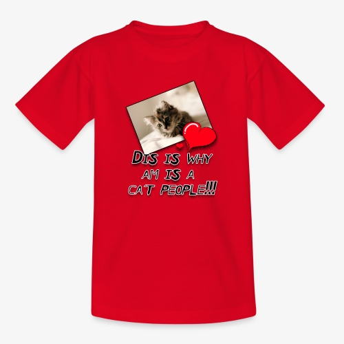 CatPeople - Kids' T-Shirt
