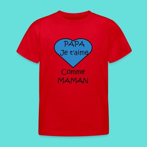 JTM PAPA - T-shirt Enfant