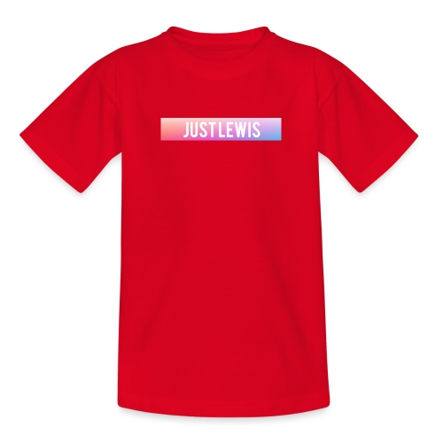Just Lewis Box Logo - Kids' T-Shirt