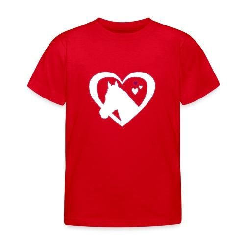 horse heart - Kinderen T-shirt