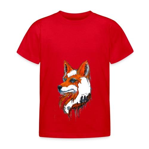 David Pucher Art Fuchs - Kinder T-Shirt