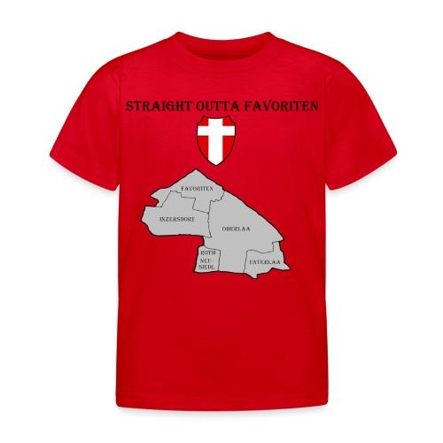 straight outta favoriten wien - Kinder T-Shirt