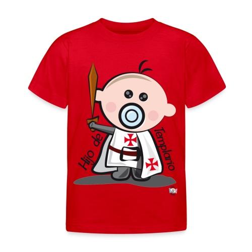 Hijo de templario - Camiseta niño