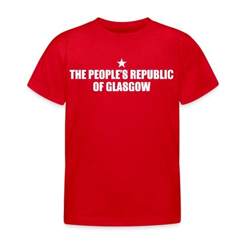 People's Republic Glasgow - Kids' T-Shirt