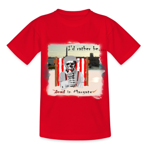 I'd rather be in Margate - Kids' T-Shirt