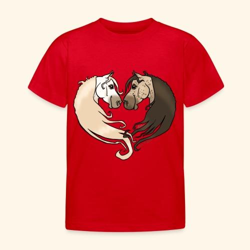 Chevaux amoureux gris-gris - T-shirt Enfant